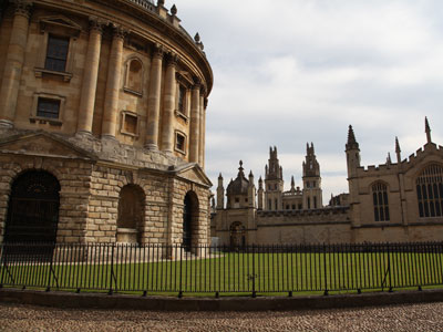 Undergraduate study at the University of Oxford