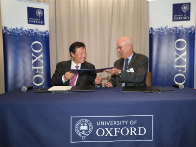 Launch of the Kwok Scholarships for undergraduate study at the University of Oxford