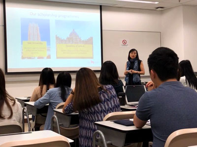 Kwok Scholarship Information Session at the Chinese University of Hong Kong - 1