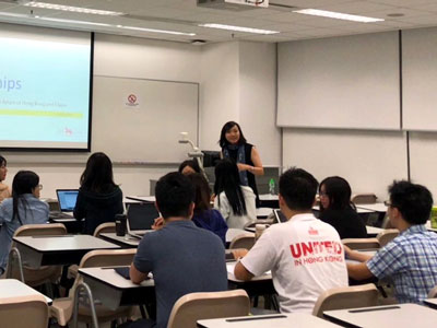 Kwok Scholarship Information Session at the Chinese University of Hong Kong - 3